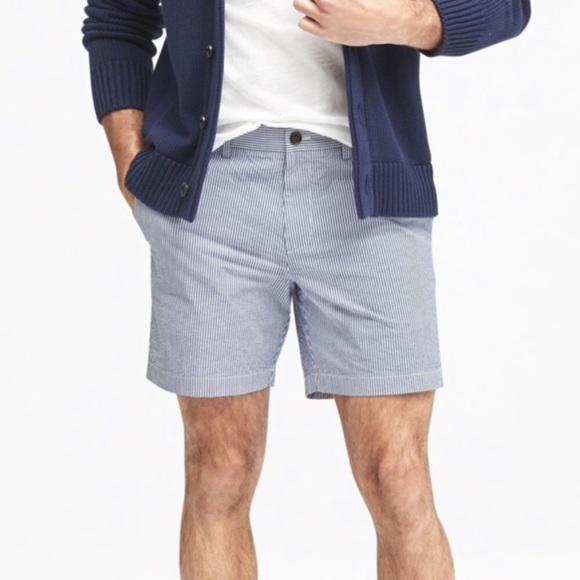 seersucker shorts for men
